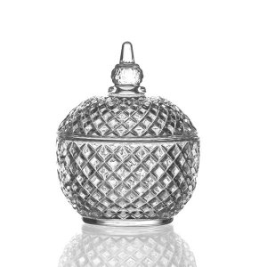 Bombonière de Cristal - 9,5x12 cm