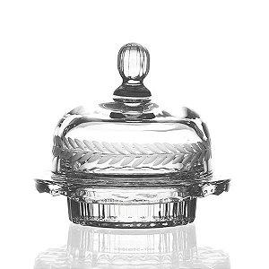 Bombonière de Cristal - 14x11 cm