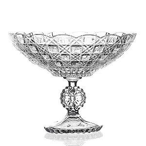 Fruteira de Cristal - 24,5 x 35 cm