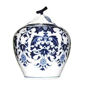Potiche de Cerâmica - 18x22 cm