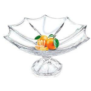 Fruteira de Cristal - 33 x 17,5 cm