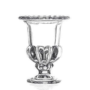 Castiçal de Cristal -  11x14 cm