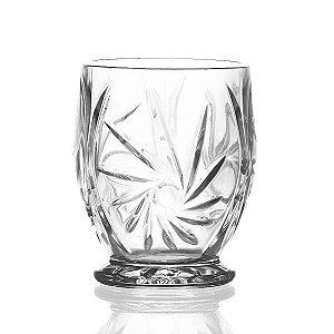 Castiçal de Vidro 10x13 cm