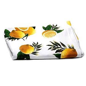 Toalha de Mesa Tropical Limões - 1,55x1,55 cm