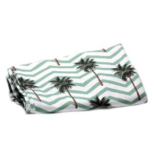 Toalha de Mesa Tropical Coqueiros - 2,40x1,55 cm