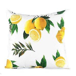 Capa para Almofada Tropical Limões - 44x43 cm