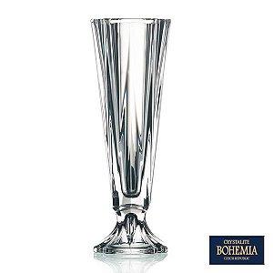 Vaso Bohemia Metropolitan de Cristal - 15x43,5 cm