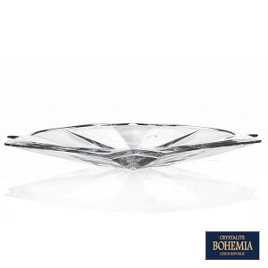 Bandeja Bohemia Metropolitan de Cristal - 33x3 cm