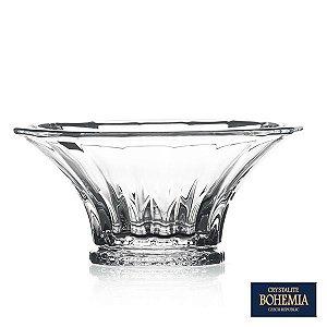 Saladeira Bohemia Wellington de Cristal - 25x11,5 cm