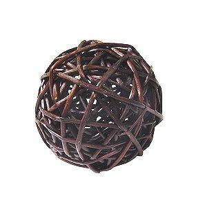 Bola Decorativa Escura - 10 cm