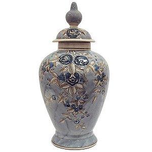 Potiche de Cerâmica - 21x44,5 cm