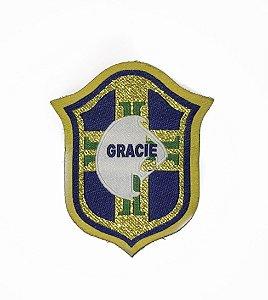Patch Gracie Brasil