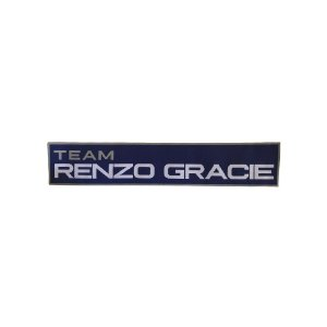 Patch - Renzo Gracie Team - Azul 300mm