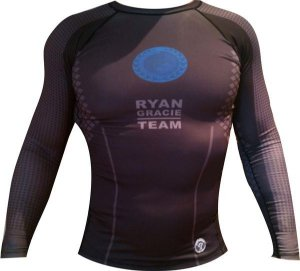Rash Guard Oficial Ryan Gracie Team (Manga Longa)