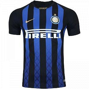 9ae8977fd22 Camisa I Inter de Milão S Nº 18 19 Nike