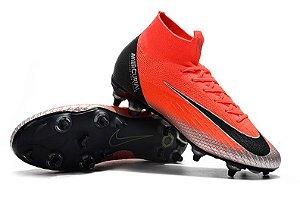 Chuteira Nike campo Trava Mista Cano Longo Mercurial Superfly VI Elite CR7 b01f597c8b481