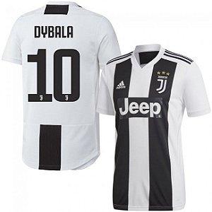7c5e519727 Camisa I Juventus Nº10 Dybala 18/19 Torcedor Adidas