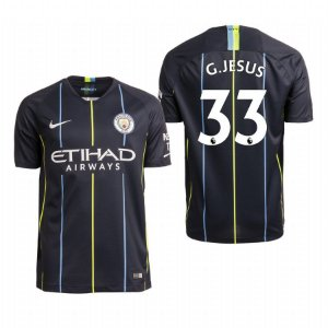 frete grátis 60% Desconto. Camisa II Manchester City 18 19 G. Jesus Nº9 Nike 2ec7b0c60f2af
