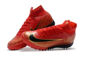 e7a2a3484e470 Chuteira Nike Society Cano Longo Superfly X 6 Elite Vermelha