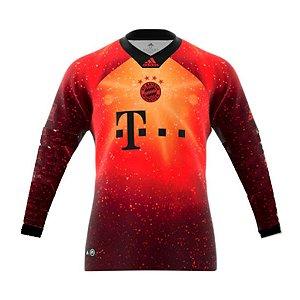 4608be204e Camisa Bayern de Munique EA SPORTS Manga Longa FIFA 19 S Nº Adidas