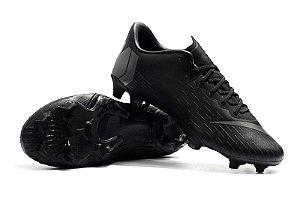 Chuteira Nike Campo Trava Mista Mercurial Vapor XII PRO Branca Verde ... 4f5b0840735cc