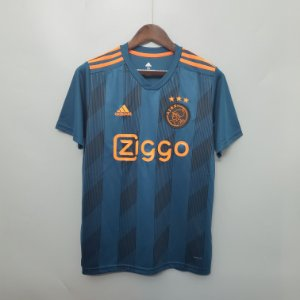 a31ed26954 Camisa II Ajax David Neres 19/20 N7 Adidas Preta e Dourada - Loja ...
