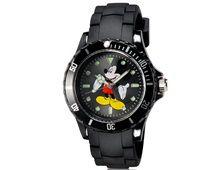 Relógio Infantil 5087G Mickey Alça Plástico Preto