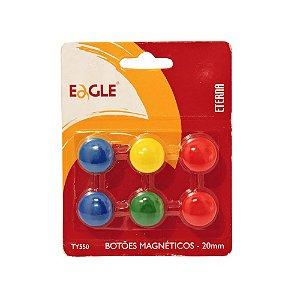 Botões Magnéticos Eagle C/ 6 Und.