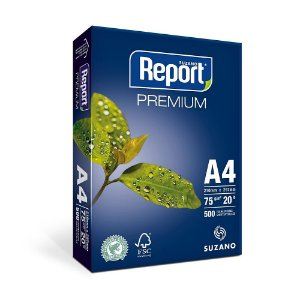 Papel Sulfite A4 Report - 75GR 500 Fls.