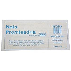 Nota Promissória com 50 Folhas Tilibra Unid.