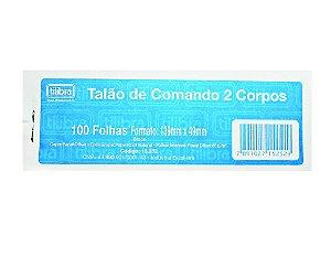 Comando 2 Corpos com 100 Folhas - Tilibra -