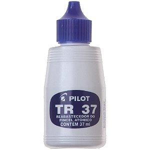 Tinta P/ Pincel Atômico 37 ml Azul Pilot