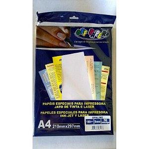 Papel A4 Off Paper C/50f 180g Opaline Branco