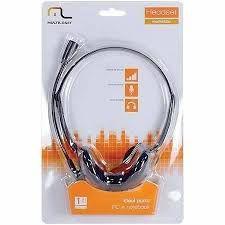 Fone com Microfone Basico Preto P2 Multilaser - PH002
