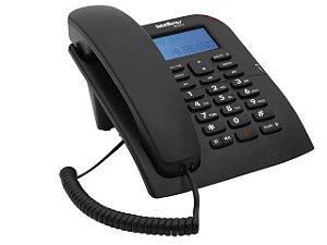 Telefone c/identificador de Chamadas Preto