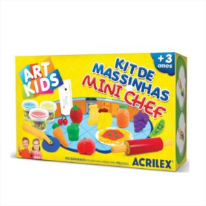 Kit de Massinhas de Modelar Mini Chef Acrilex 40008