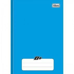 Caderno Brochura 1/4 CD. 96 Fls Azul