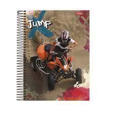CADERNO UNIV.CD 12X1 JUMP 240FLS