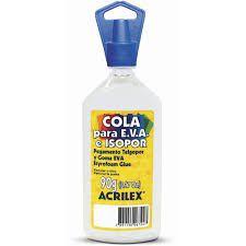 COLA ISOPOR 90G ACRILEX