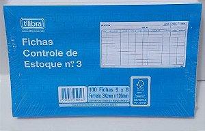 FICHA CONTROLE DE ESTOQUE N.3 5X8