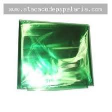 Papel Celofane Verde