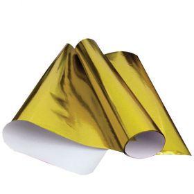 Papel Laminado Amarelo