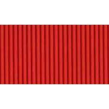 Papel Micro-Ondulado (50X80Cm) Vermelho