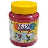TINTA TEMPERA GUACHE 250 ML ACRILEX MAGENTA