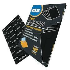 Carbono CIS papel A4 - Preto P/ Máquina Unid.