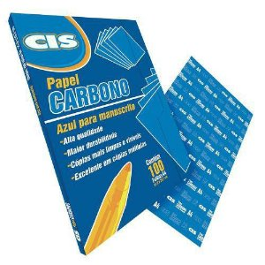 Carbono CIS Papel A4 - Azul P/ Máquina Unid.