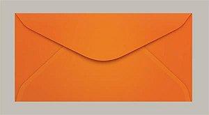 Envelope 114x229 Oficio Laranja