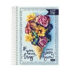CADERNO UNIV.CD 10X1 LIKE 200FLS