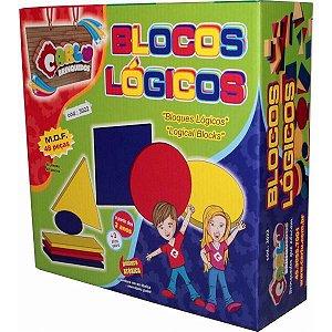 BLOCOS LOGICOS 48 PCS CARLU