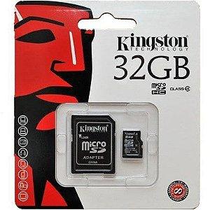 CARTAO DE MEMORIA MICROSD 32GB KINGSTON